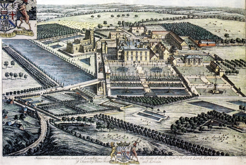 Kyps Engraving from 1700